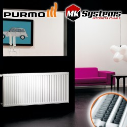 Steel radiators PURMO Compact with side connection 33-900*500